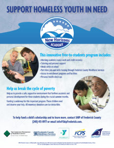 Support Homeless Youth in Need Flyer